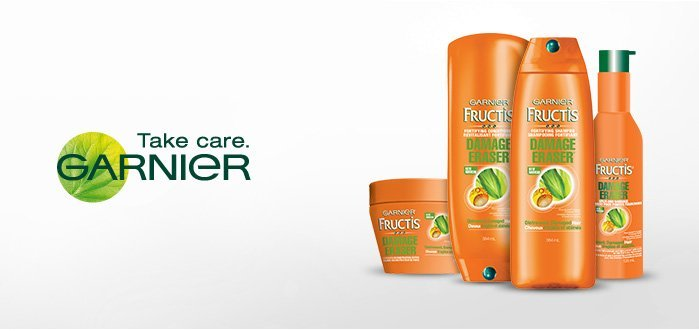 Garnier Fructis Damage Eraser: Are You a Damage Criminal? Rejuvenate Your Hair with Garnier's New Hair Care Line!