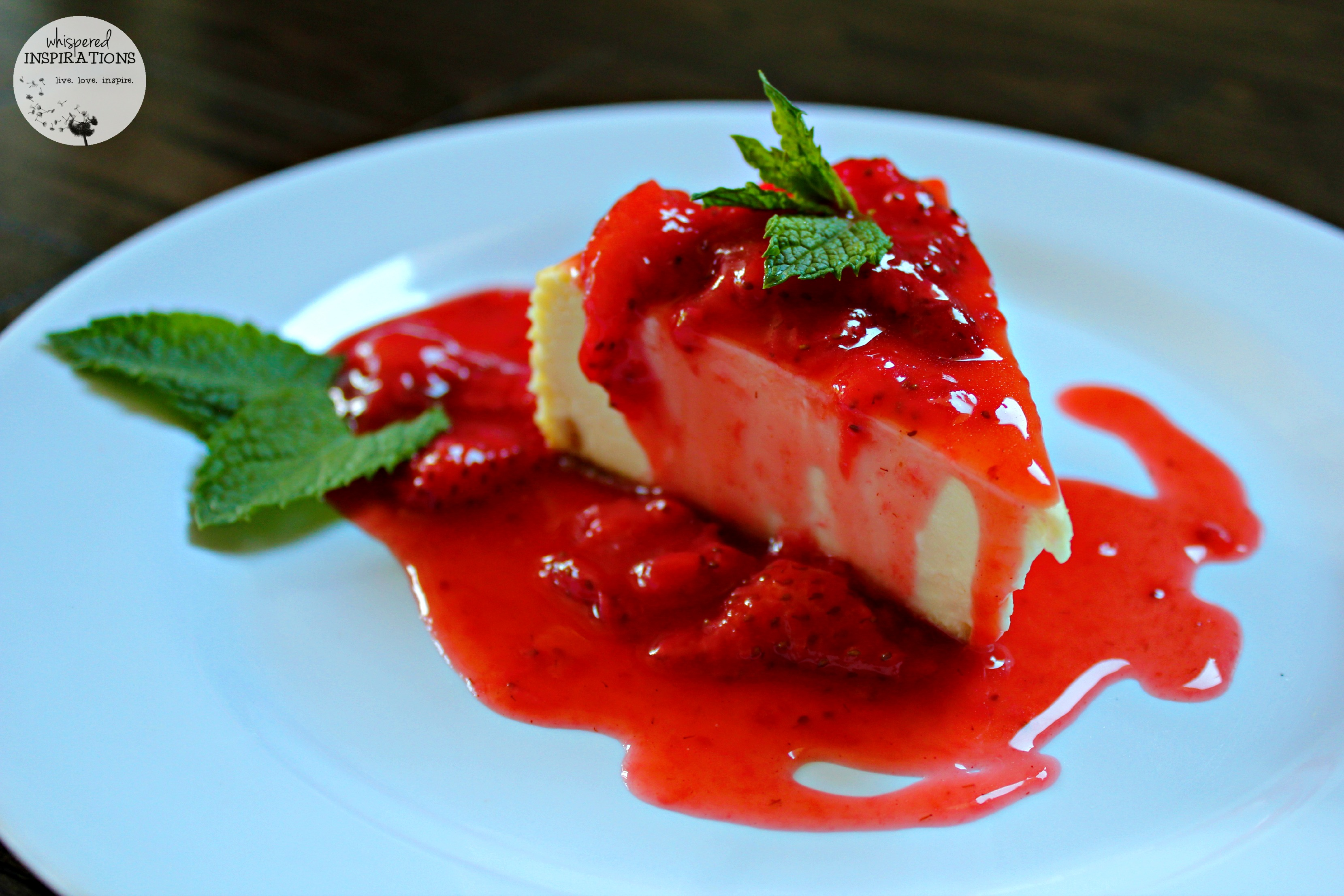 Classic Strawberry Cheesecake Recipe