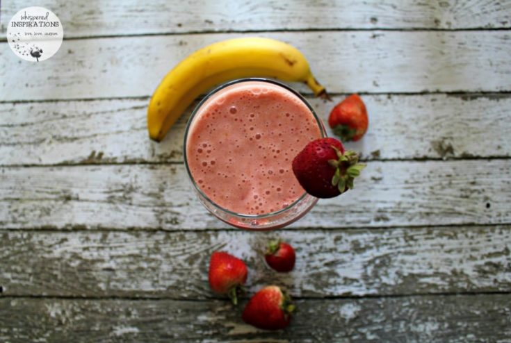 Frullo Strawberry and Banana Smoothie