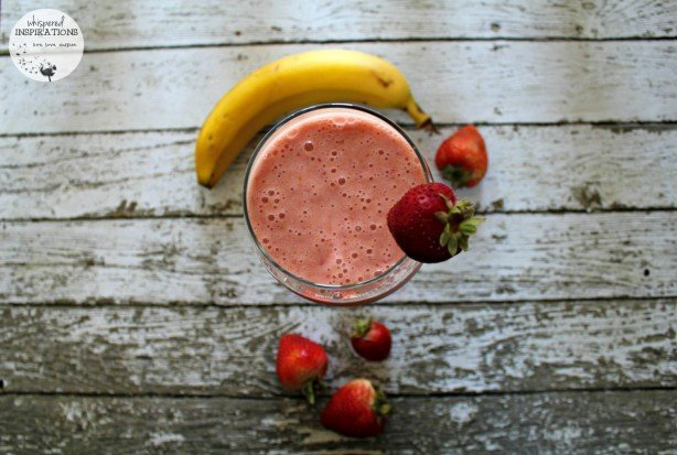 SunRype Frullo: Try This Strawberry Banana Frullo Smoothie! Completely Guilt-Free! #SunRype