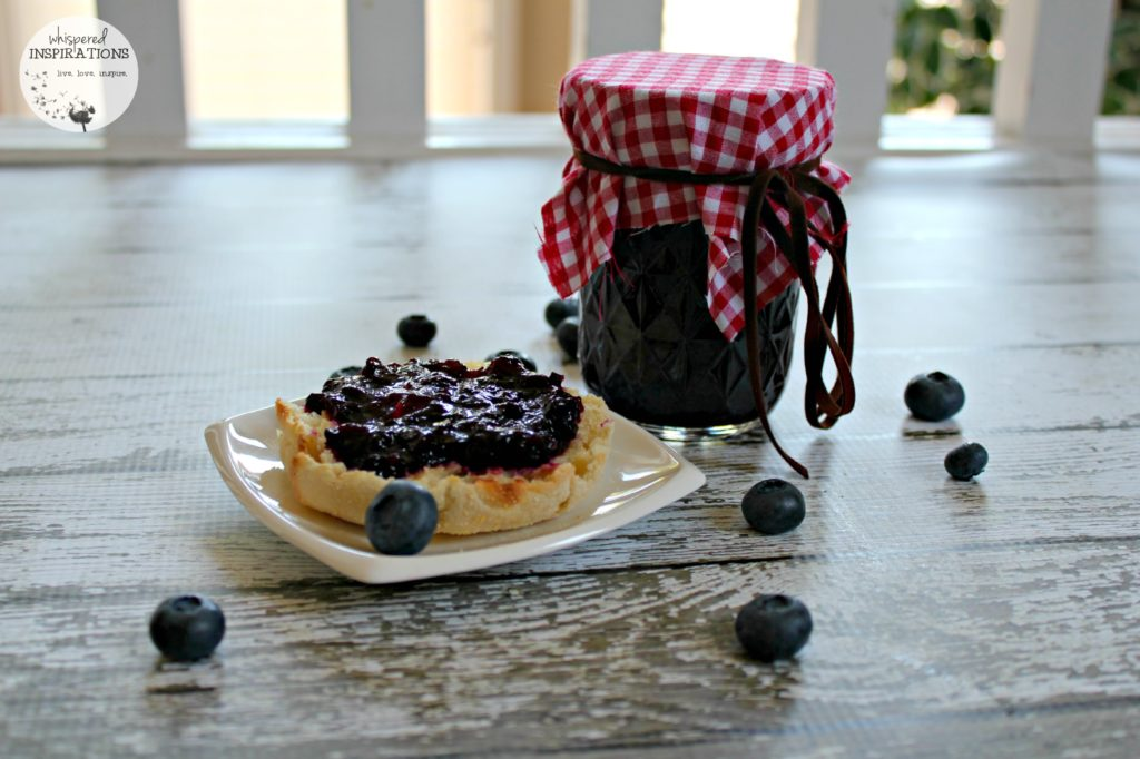 Bernardin Home Canning: Organic Strawberry and Blueberry Jam Sweetened with Stevia. #recipe