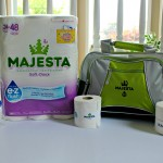MAJESTA e•z flush Test Plus Contest & Giveaway: I am Pleasantly Surprised with The Results, You Will Be Too! #giveaway
