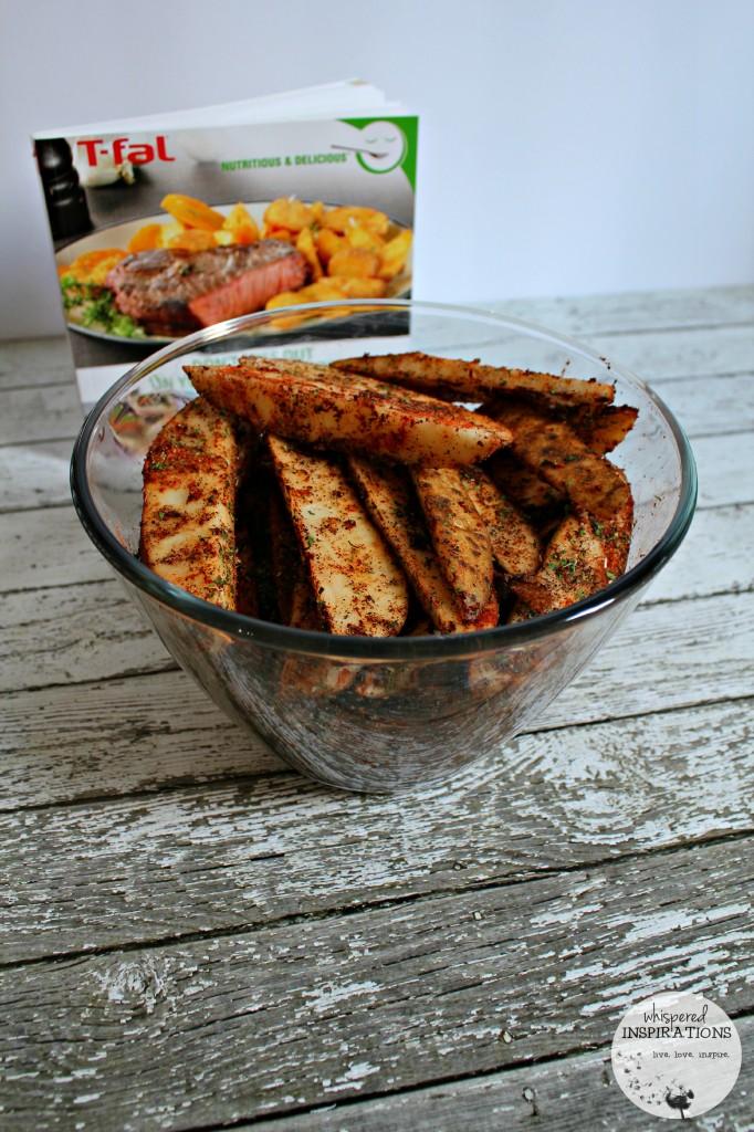 Savory Potato Wedges