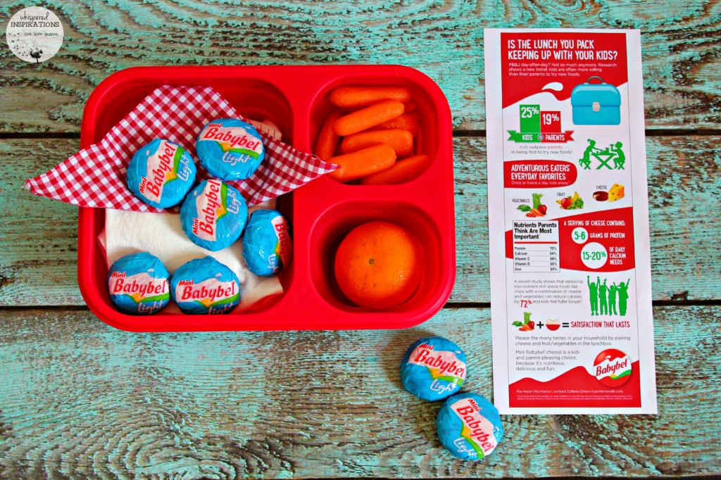 Mini Babybel Cheeses: School is Back, Pack Up Some Fun with Mini Babybel!