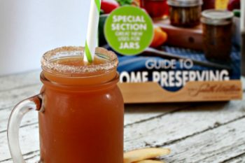 Bernardin Drinking Mugs & Sip N' Straw Lids: Delicious Cinnamon Apple Cider Recipe!