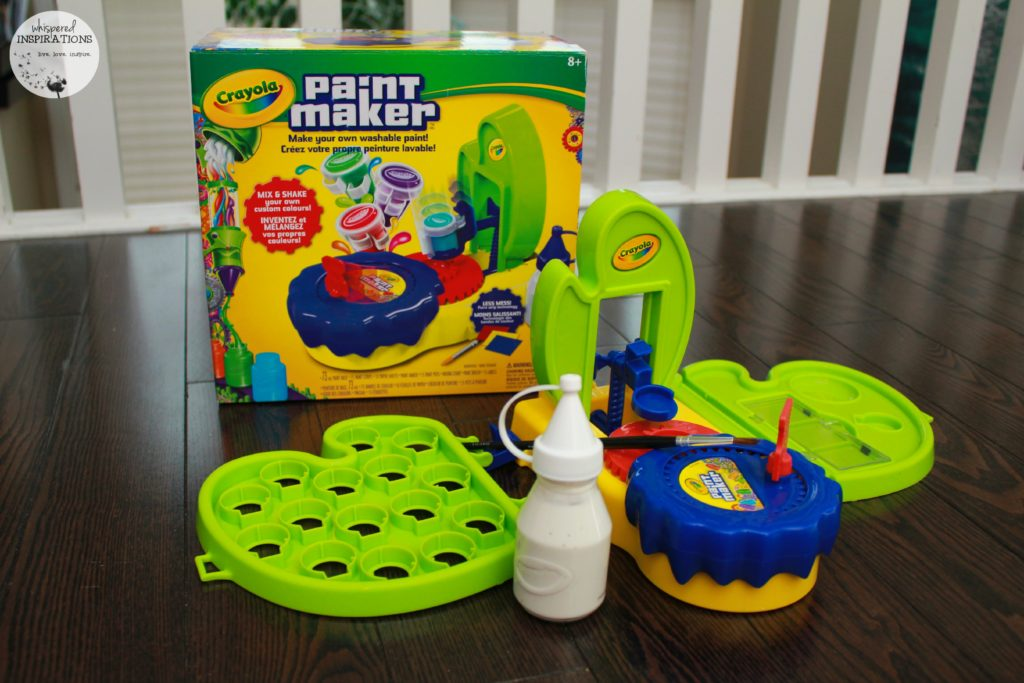 Crayola Paint Maker: Create Your Own Custom Paint in Minutes! #HolidayGiftGuide