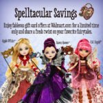 Meet the Ever After High Dolls, Perfect for Gift Giving During the Holiday Season! Plus an Exclusive Offer from Walmart!