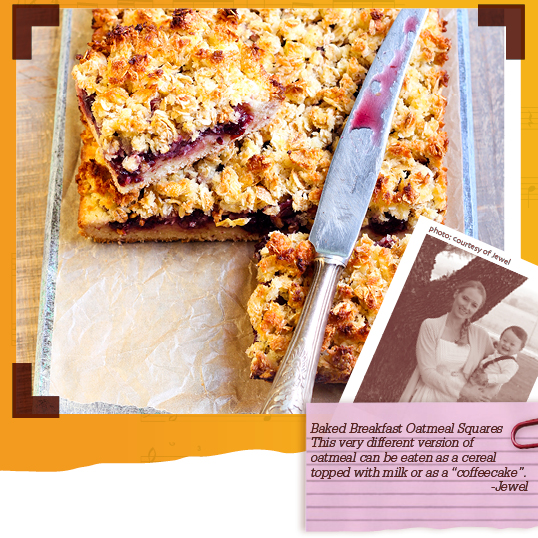 Baked Breakfast Oatmeal Squares