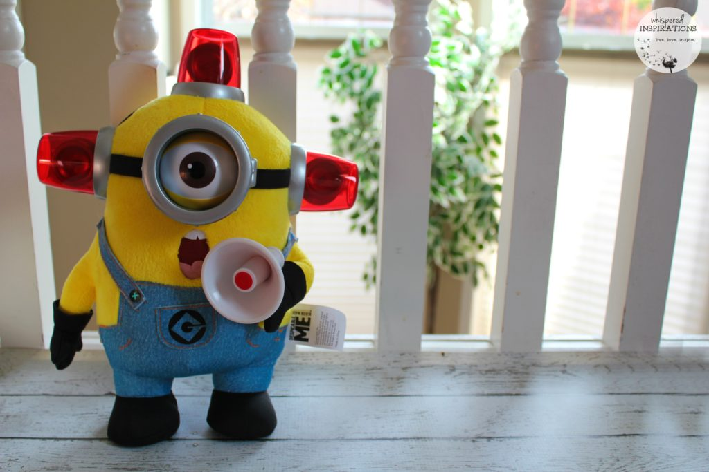 "Thinkway Toys: ""Bee-do"" Fireman Minion Stuart Toy. #HolidayGiftGuide"