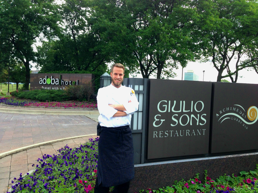 Giulio and Sons Restaurant at adoba Hotel in Dearborn, MI. #EcoTravelwithadoba