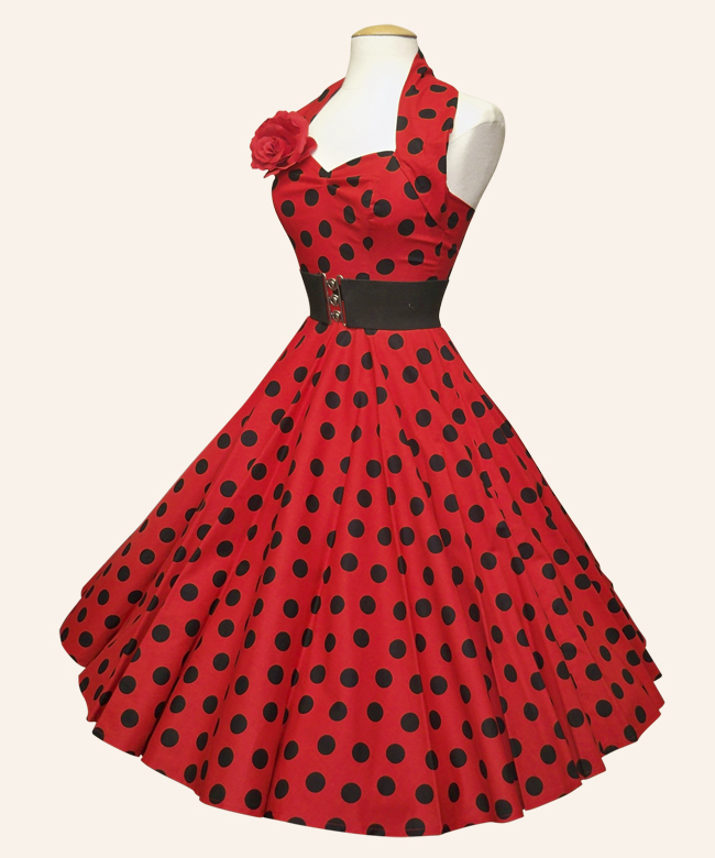 1950s-polka-dot-dress-Vivien-of-Holloway
