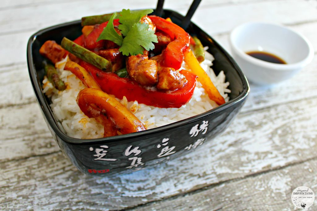 Club House Sesame Chicken Stir-Fry: Serve a Savory Taste of The East in 30 Minutes! #recipe