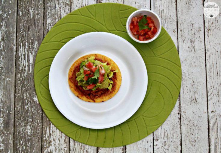 Salvadorean Beef Enchiladas