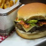 Gourmet Grilling with the T-fal OptiGrill: Try an Original Posang Peppa Guac Burger! #recipe
