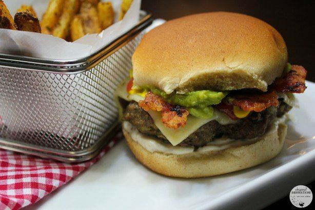 Grill w/ the T-fal OptiGrill: Pepper Jack Bacon Guacamole Burger Recipe!