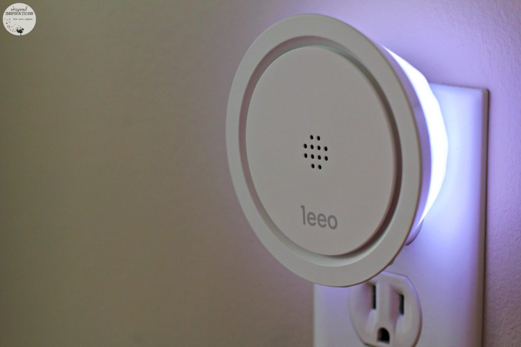 Leoo Smart Alert Nightlight: Listens, Notifies and Calls for Back-Up. #tech
