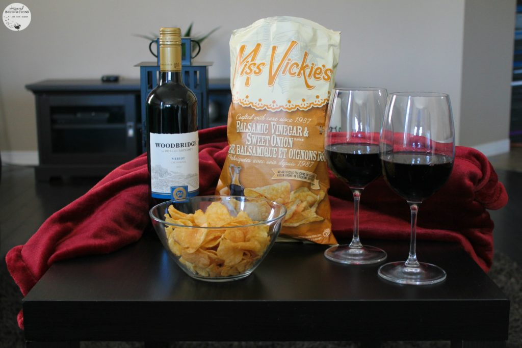 Miss Vickie's Potato Chips & Woodbridge by Robert Mondavi Wines Are The Perfect Way to Relax. #UnwindTogether
