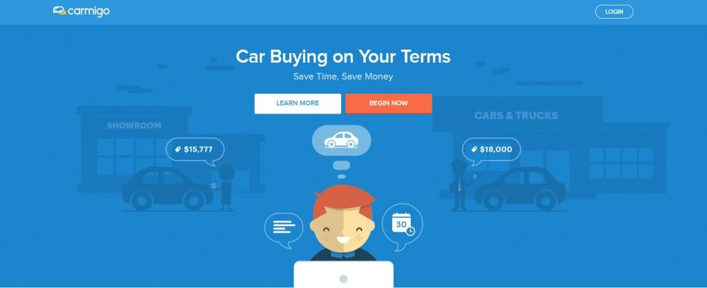 Carmigo home page