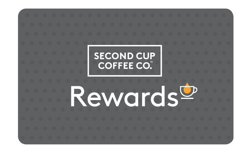 Second Cup Coffee Co. Rewards Card