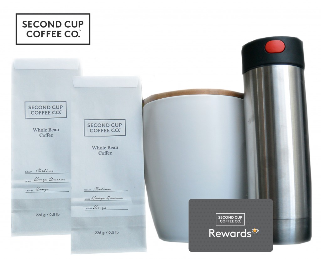 Second Cup Coffee Co. Rewards Co-Promotion Image