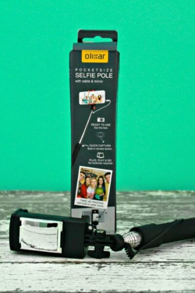 Olixar Pocketsize Selfie Pole with Mirror