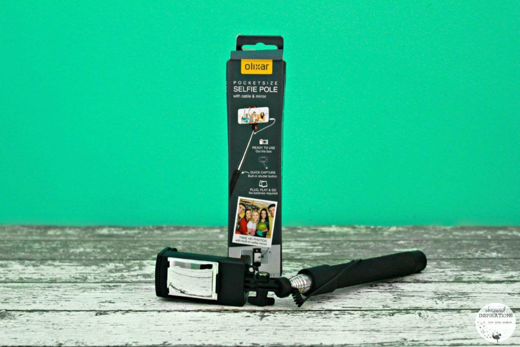 Olixar Pocketsize Selfie Pole with Mirror on MobileFun.co.uk + WIN 1 of 3 Selfie Sticks! #tech