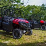 Honda ATV and Side by Side: Taking on the Trails In Muskoka! #CampHonda