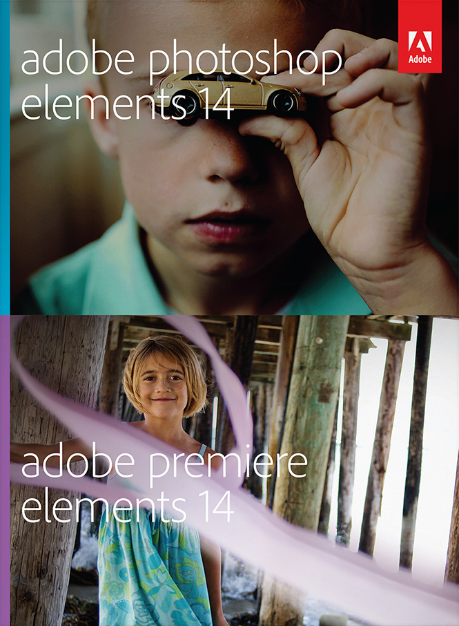 Adobe Photoshop and Adobe Elements