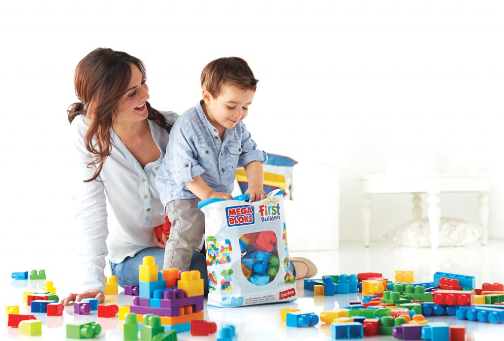 MEGA BLOKS - Lifestyle - Big Building Bag (mom and son)