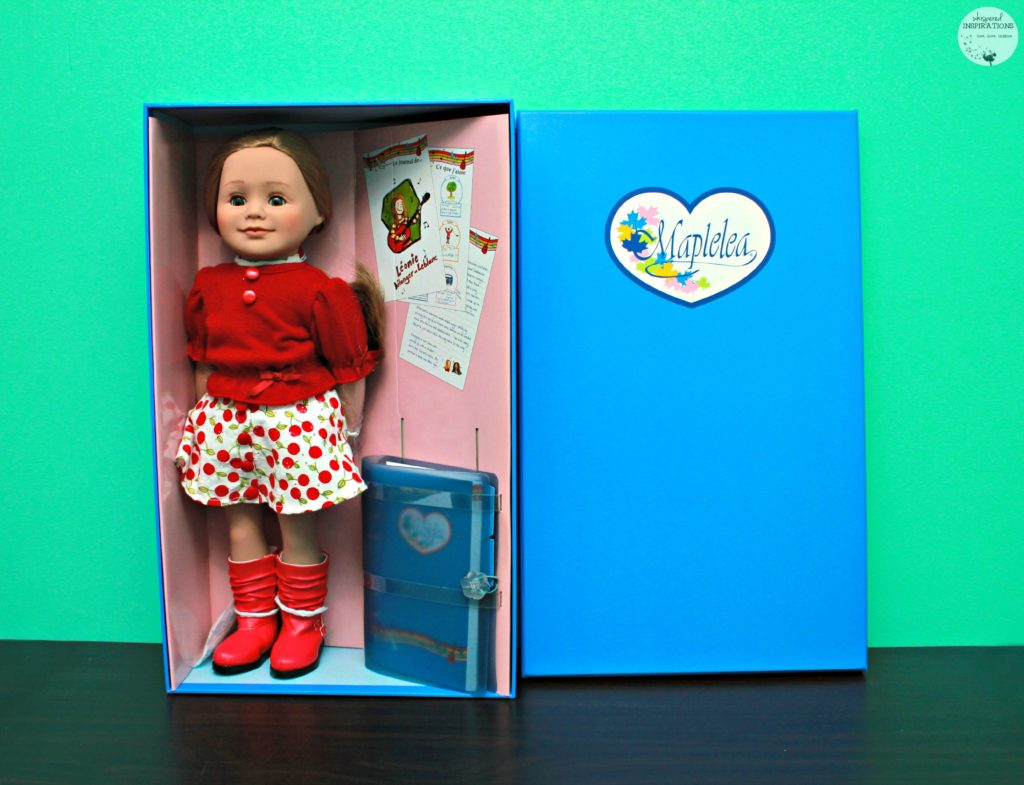 Maplelea Girls: Meet Leonie, the Hockey & Music Loving Doll! Canadian Dolls for Canadian Girls + Giveaway!