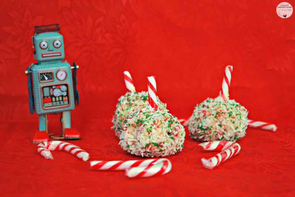 Make These Coconut White Chocolate Festive Bite-Sized Rice Treats & Give Back This Holiday Season! #TreatsForToys