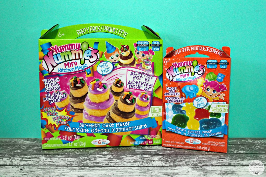 Mix and Make Yummy Treats with Yummy Nummies! Make Cupcakes, Gummies, Soda and More!
