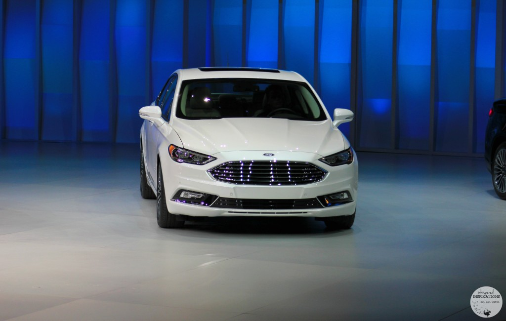 Ford Reveals the NEW 2017 Ford Fusion Smart Sleek and