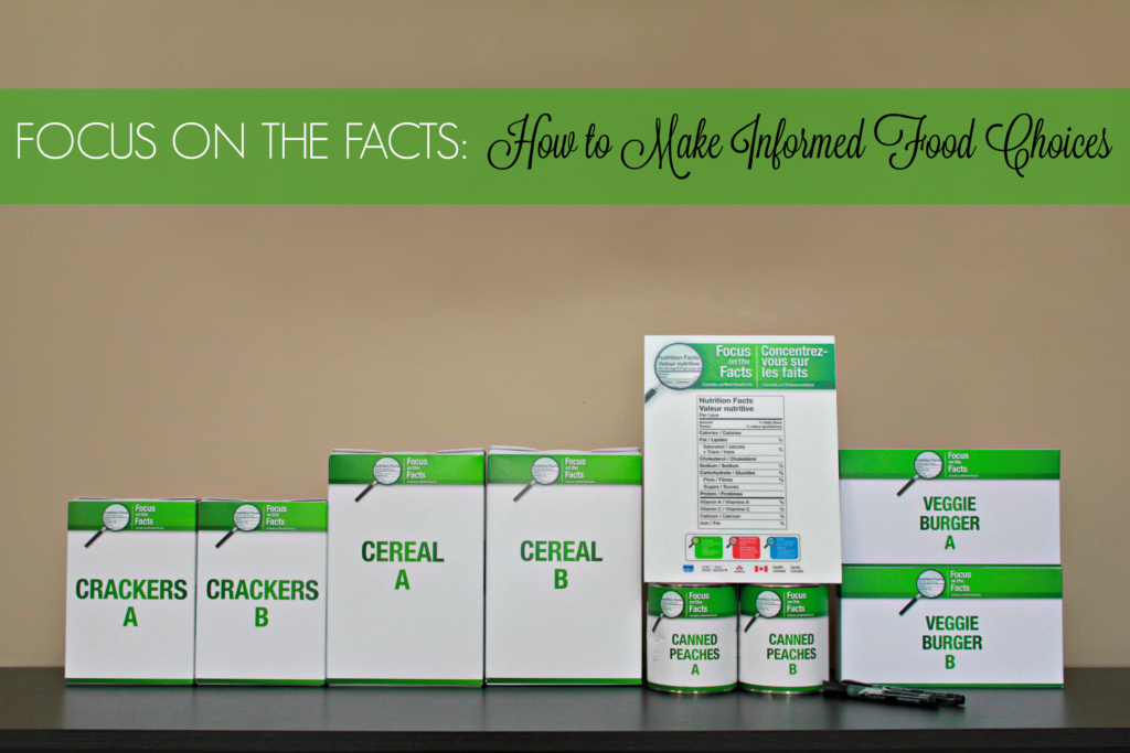 Focus On the Facts: Teach Your Kids to Make Informed Food Choices! #FocusOnTheFacts