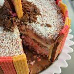 Neapolitan Ice Cream Cake Inspired by Voortman + Contest Alert! #InspiredByVoortman