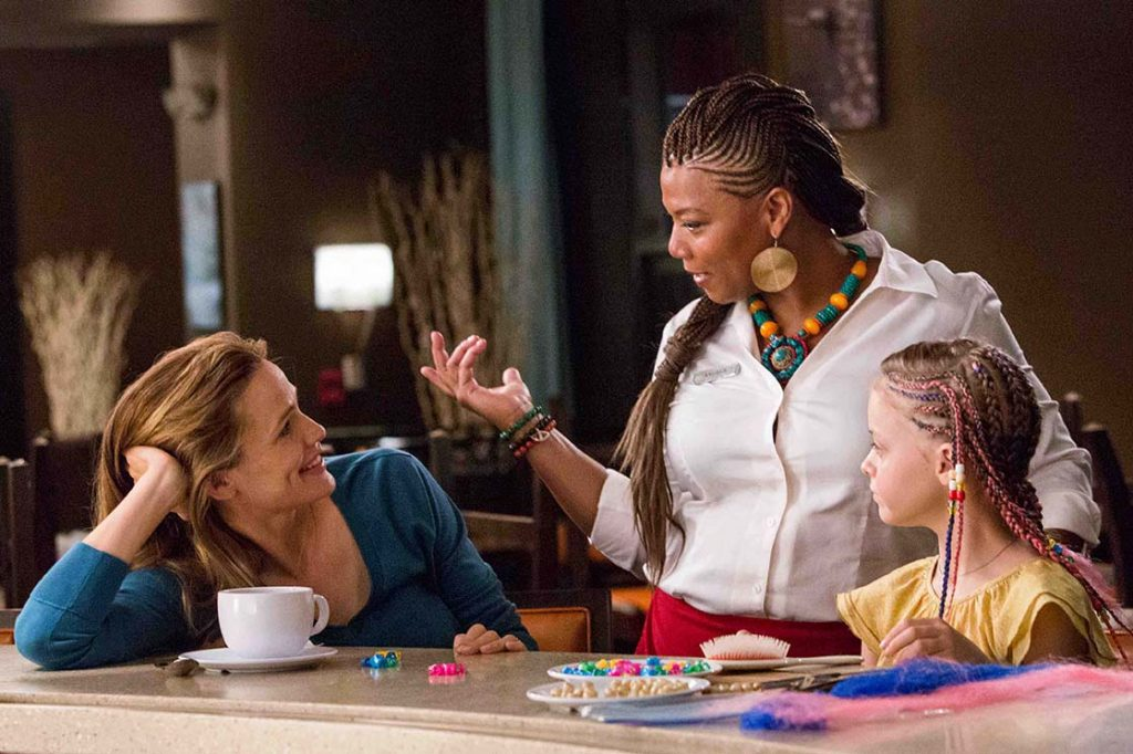 Jennifer Garner;Queen Latifah;Kylie Rogers