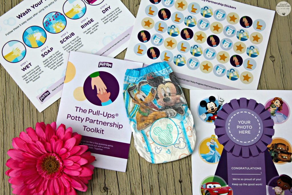 Potty Training Tips + Pull-Ups Potty Partnership Tool Kit Giveaway!