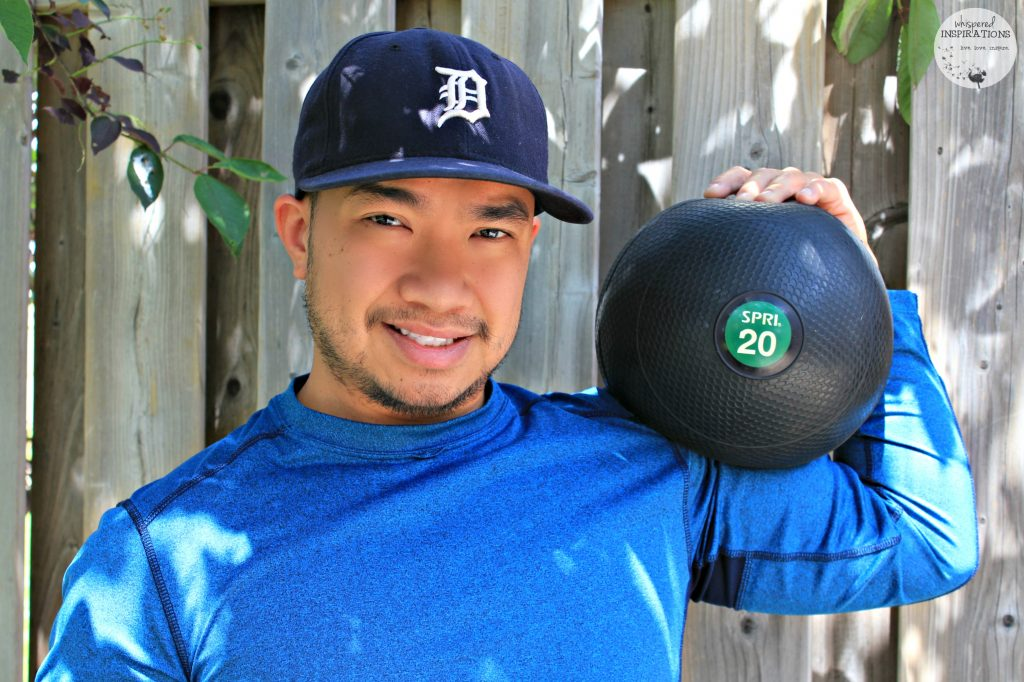SPRI Cross Train Smash Ball + Father's Day Gift Ideas for the Fitness Junkie!