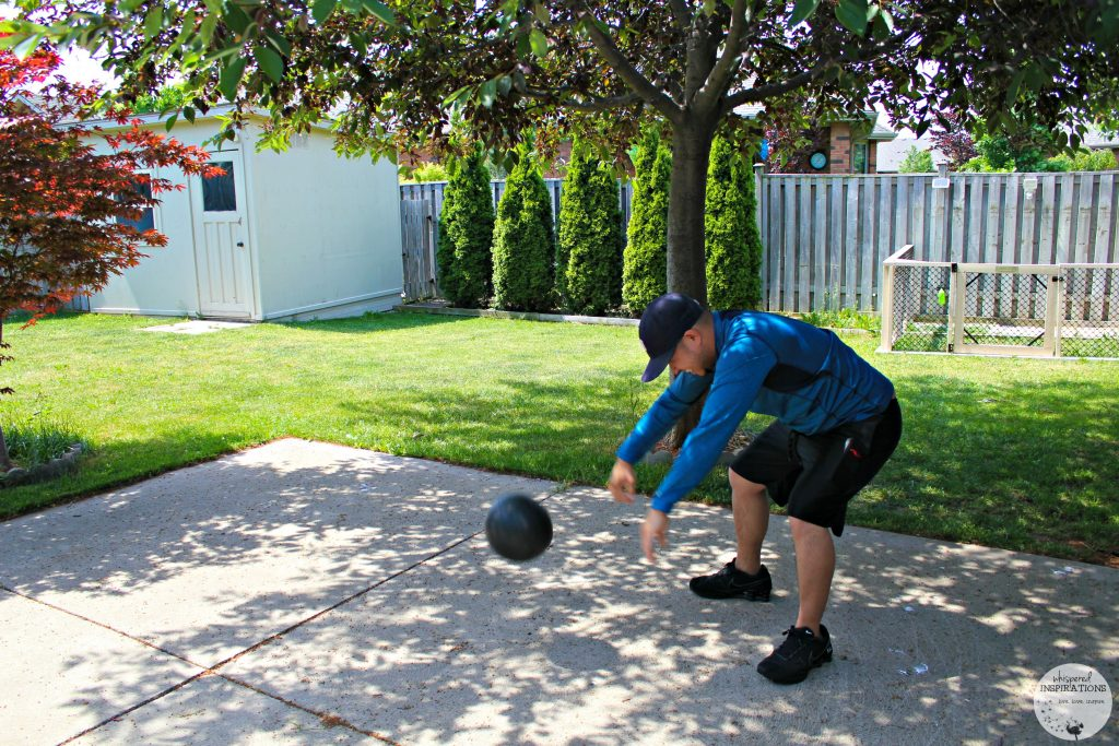 SPRI Cross Train Smash Ball + Father's Day Fitness Gift Ideas for the Fitness Junkie!