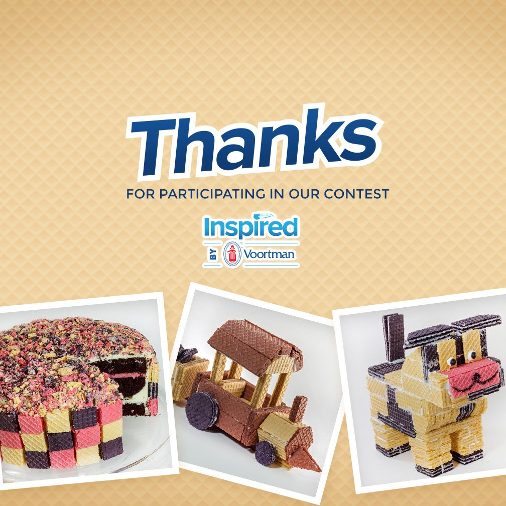 Inspired by Voortman Contest Winners: Drum Roll Please… They Have Been Chosen! #InspiredByVoortman