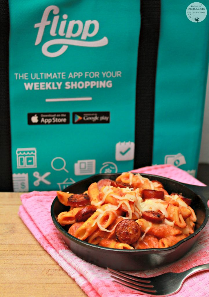 Flipp Summer Food Challenge: Saving Money on Groceries + 30-Minute Baked Penne with Italian Sausage Recipe! #FlippFoodChallenge