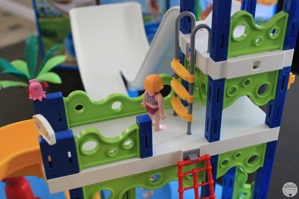 PLAYMOBIL Water Park with Slides + Giveaway!