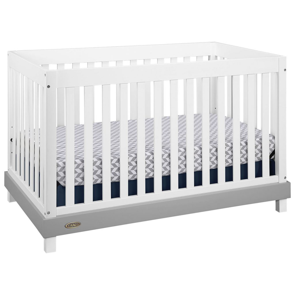The Graco Maddox 3 In 1 Convertible Crib With Kidicomfort Mattress