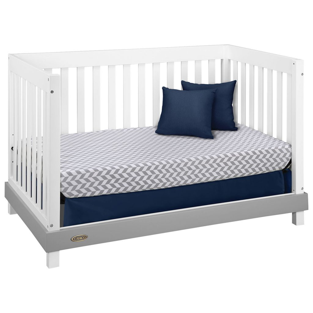 The Graco Maddox 3 in 1 Convertible Crib with Kidi fort