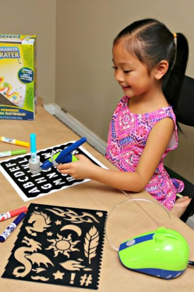 Crayola Air Marker Sprayer Whispered Inspirations