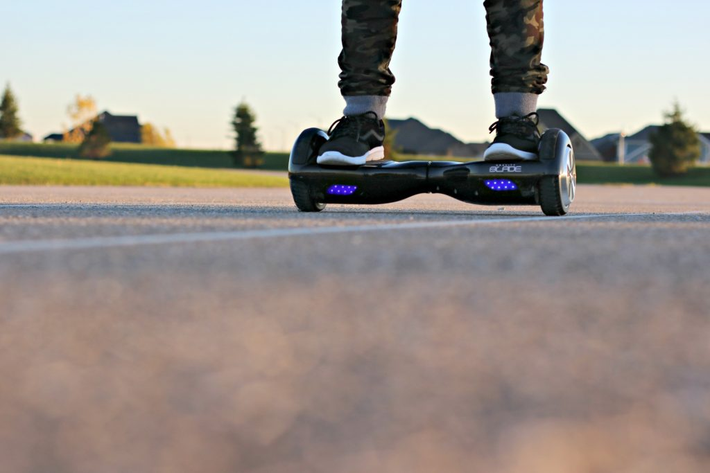 Glide Effortlessly & Up Your Outdoor Play Game with Showcase's Gravity Blade Hoverboard! #tech