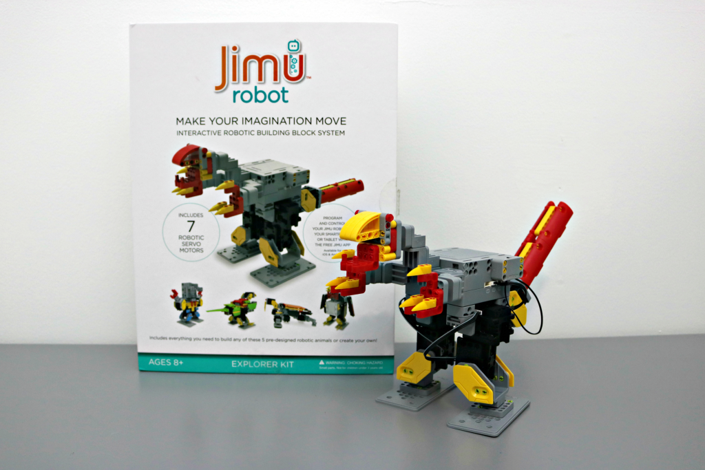 Create a Unique Humanoid Robot with Ubtech's Jimu Robot Meebot Robot Kit!
