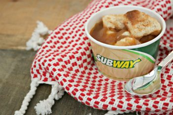 4 Reasons Why You Need More SUBWAY Soup in Your Life! #WarmUpWithSUBWAY
