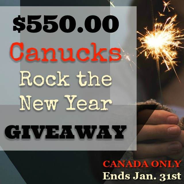 Rock the New Year & Enter to WIN $550 CAD!