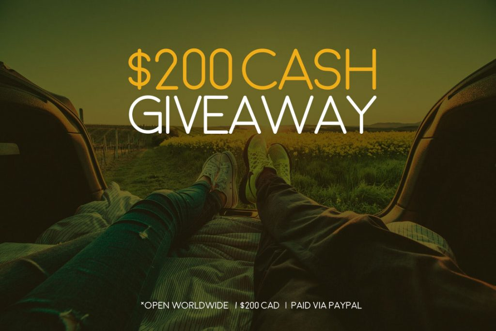 Spring Break Cash Giveaway: WIN $200 PayPal Cash, Open Worldwide! #WINSpringCash